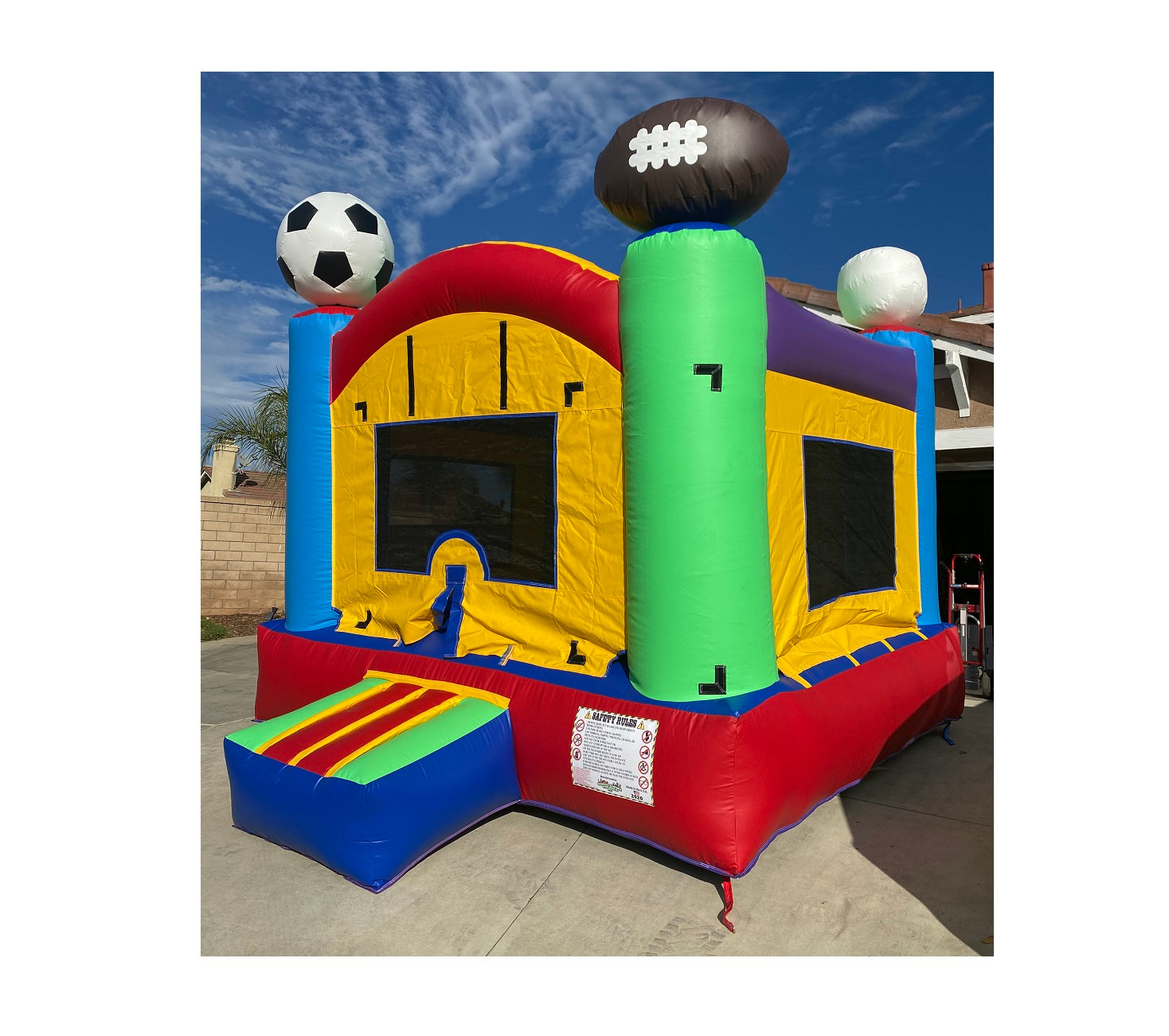 Sports Jumper/Bounce House