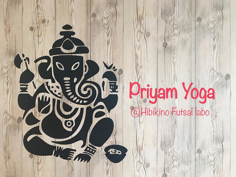 Priyam Yoga ガネーシャの壁♡