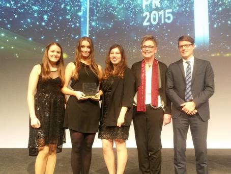 Vorstand von campus relations e.V. gewinnt den JuniorAWARD der DPRG