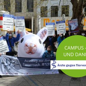 campus - und dann? 5 Fragen an den Verein Ärzte gegen Tierversuche