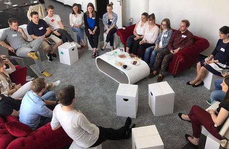 Treffen der Young-PR-Pros in Frankfurt