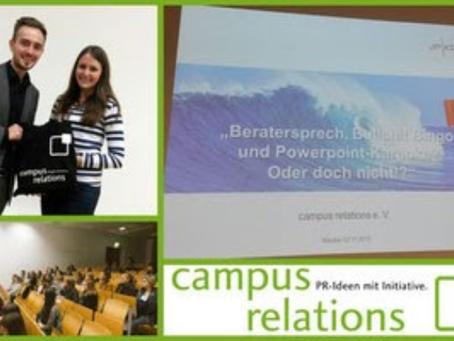 Campus-Vortrag: Arbeitsalltag der B2B-Agentur JP KOM
