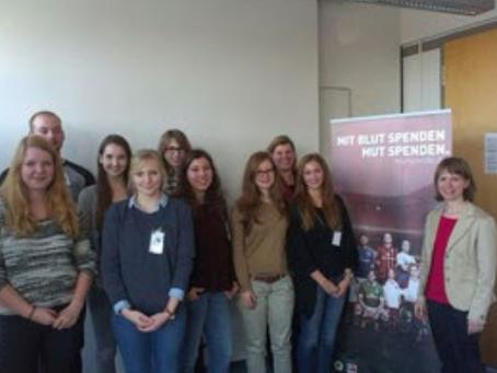 campus-Workshop mit dem Deutschen Roten Kreuz