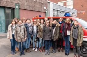 Exkursion in den Chempark Leverkusen