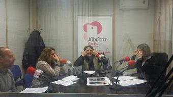 entrevista de radio a Gala Hoostaten