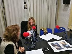 Entrevista de radio a Gala Hoogstraten