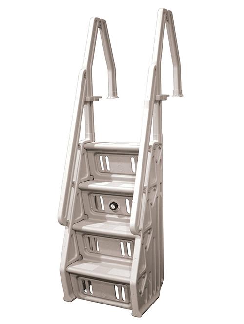 4FT Handrail Adjustable Fits 3 or 4 Steps Residential Hotel Step