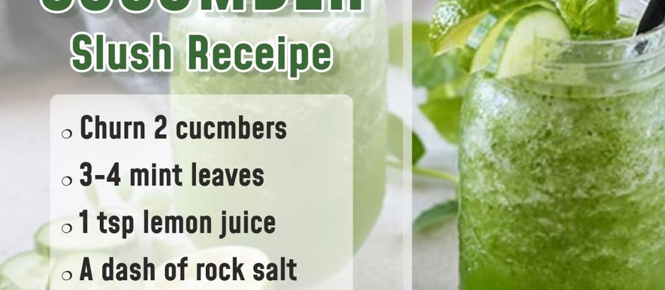 Cucumber Slush