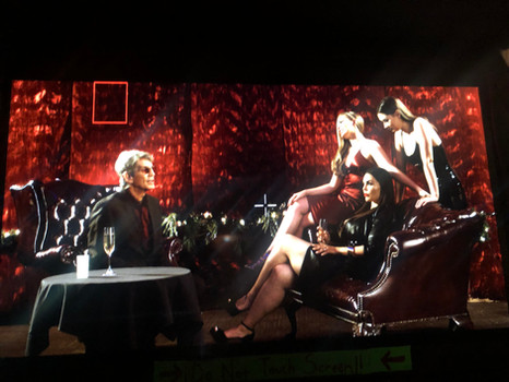 """Shelly in """"Nite"""" with Eric Roberts, Rosie Mercado & Dylan Brown."""