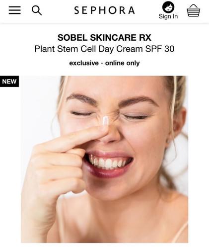 Sobel Skin Rx for Sephora