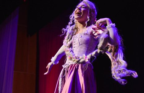 """Rapunzel in """"A Dream Is A Wish: Holiday Concert"""" with the Philadelphia Theatre Company"""