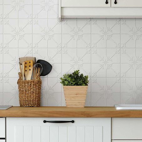 A patterned tile customised just for you
