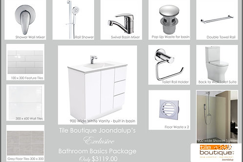 Bathroom Basics Package