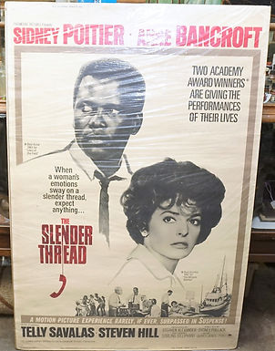 """The Slender Thread"" 1965 Movie Poster"