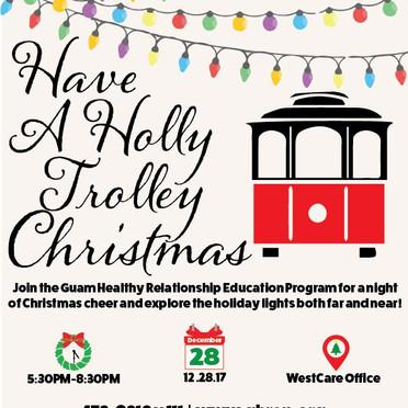 Holly Trolley Christmas