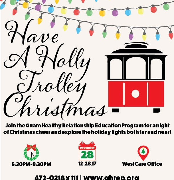 Holly Trolley Christmas