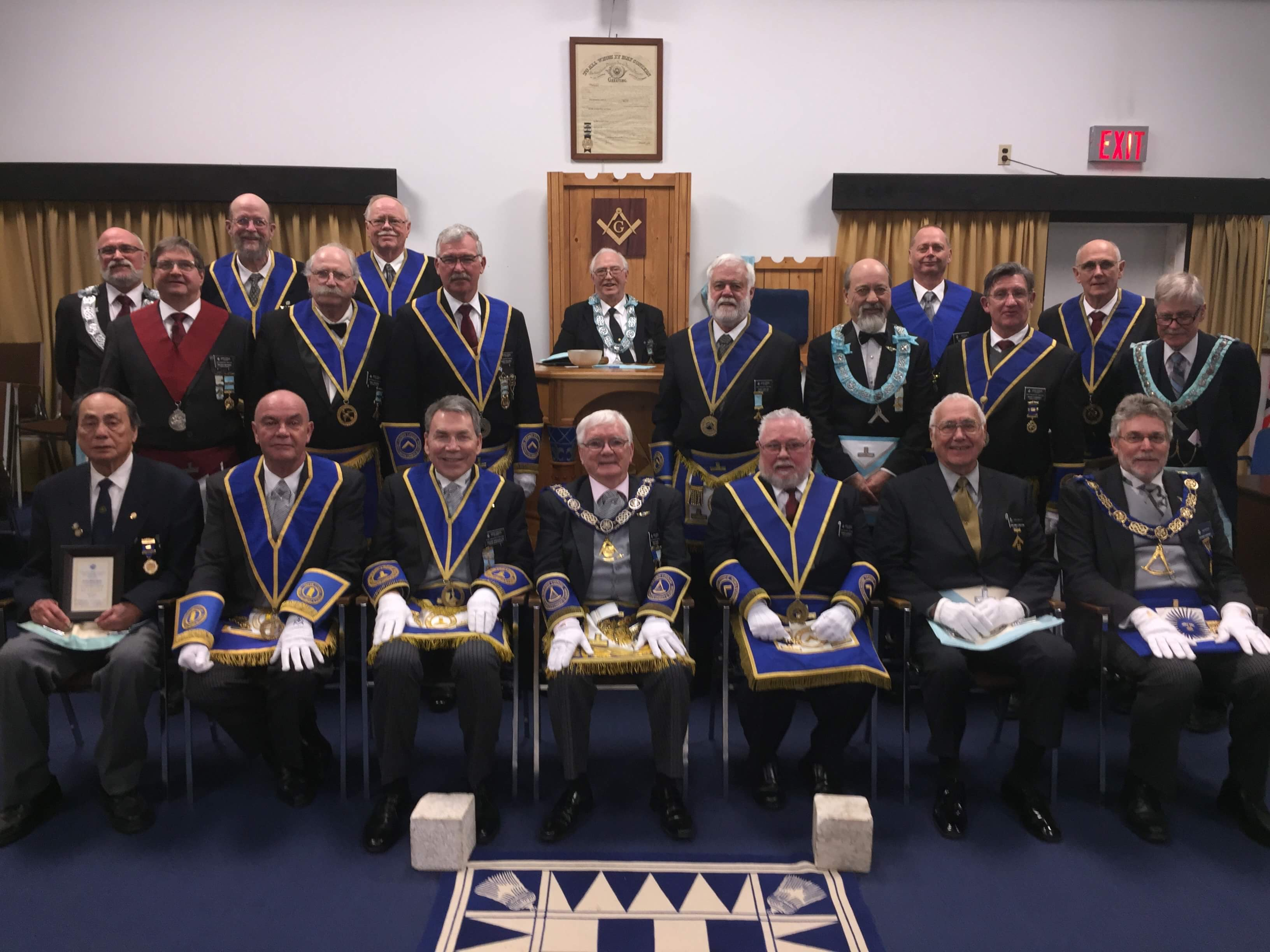 2018 Admirals Lodge GM Visit