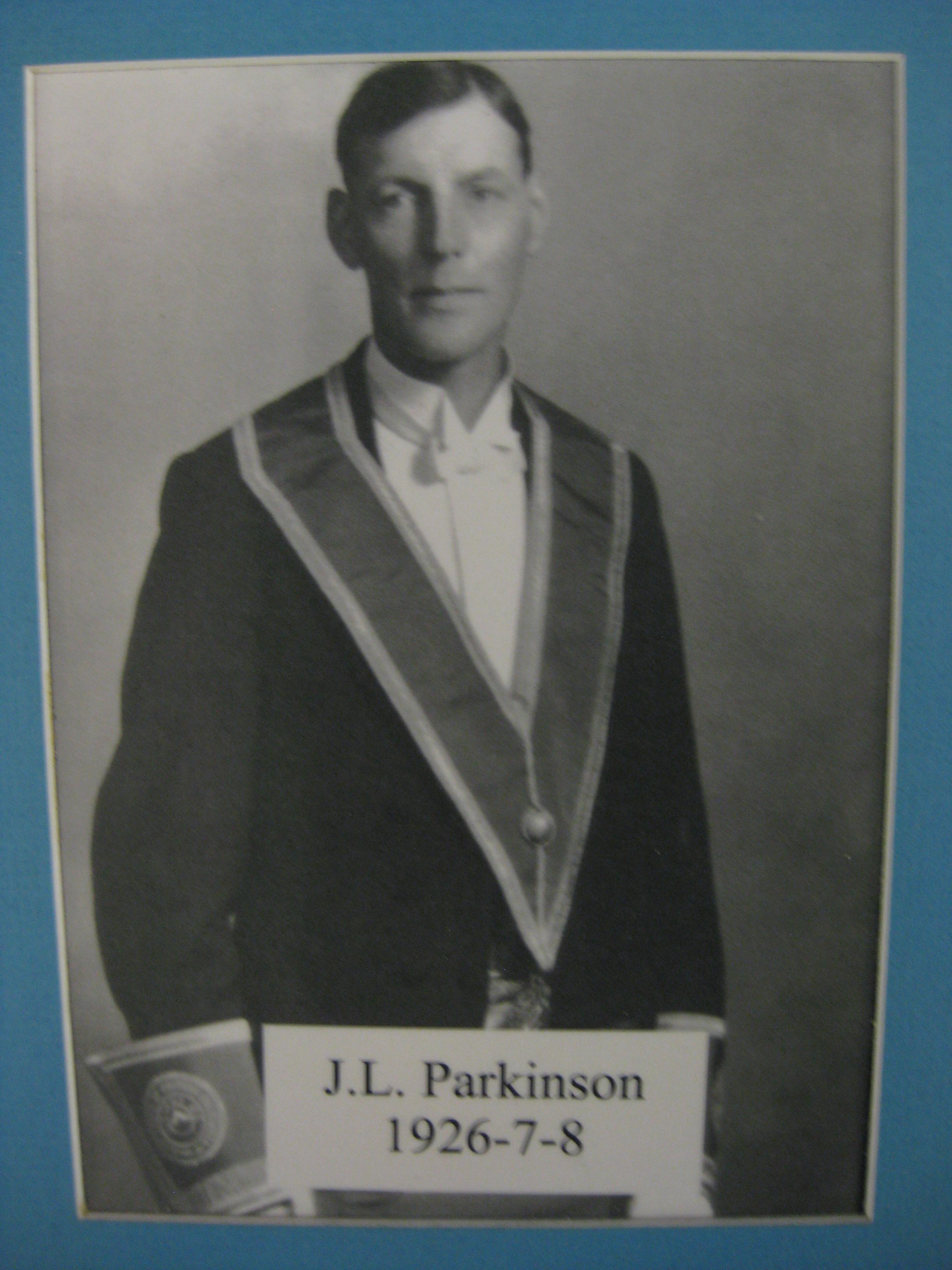 Parkinson, J.L. 1926-27-28