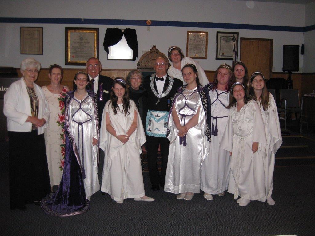 Job's Daughters Bethel 11, Nanaimo