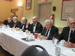 2016 Installation Lunch Head Table