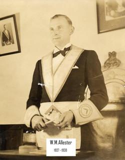 William Mackie Allester 1937-38