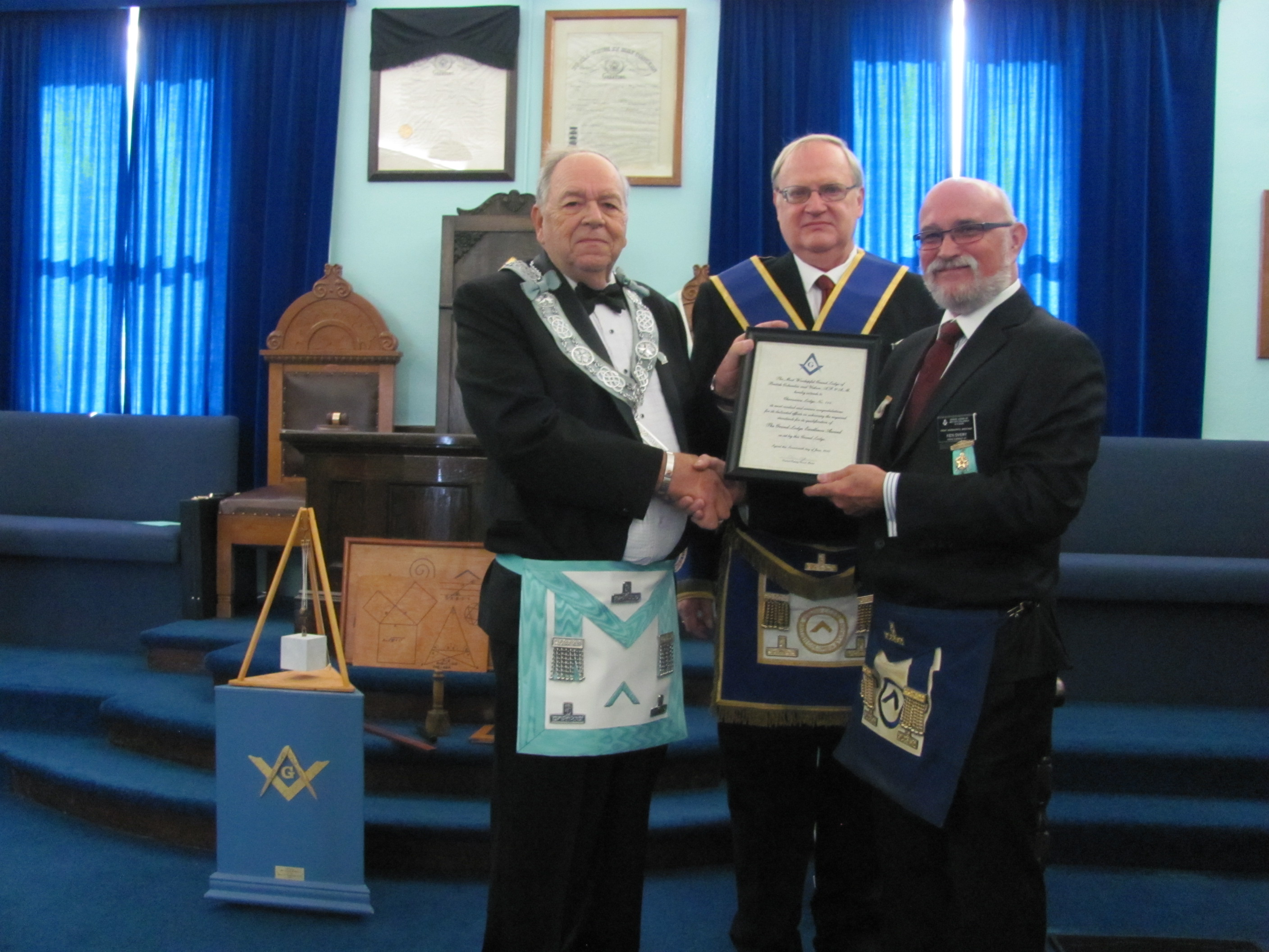 Grand Lodge Excellence Award