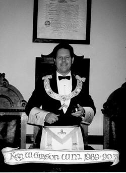 Kenneth William Gibson 1989 - 90
