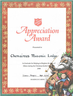 Appreciation Award Salvation Army 2009.jpg