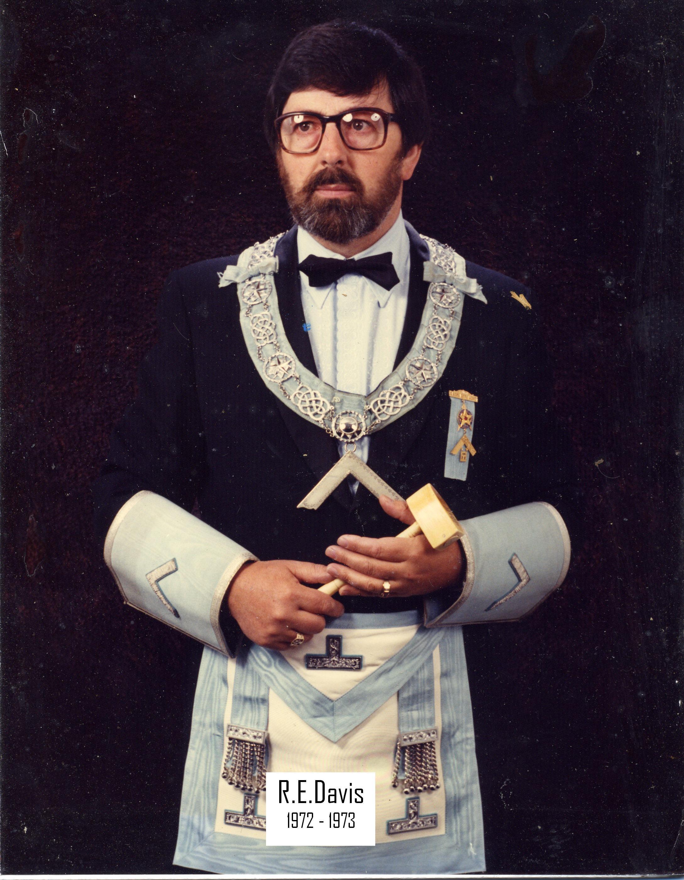 Robert Erwin Davis 1972-73