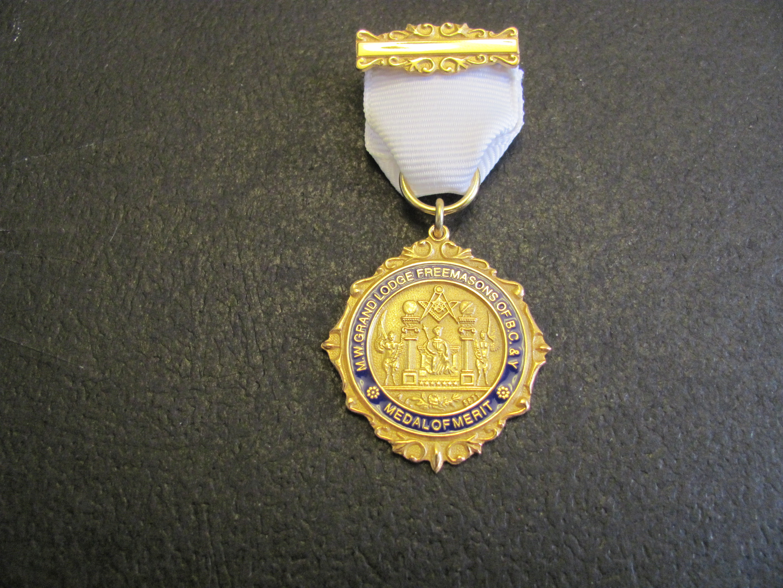 Masonic Medal of Merit