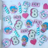 Les biscuits poupées LOL Surprise pour l