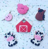 La série de biscuits du gâteau de la fer