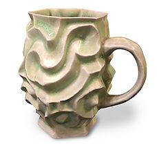 Hand built mug at Dan Harelick Studio Art