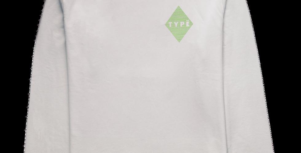 Sweatshirt 'Create' Druck