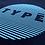 Thumbnail: T-Shirt 'TYPE Circle' Druck
