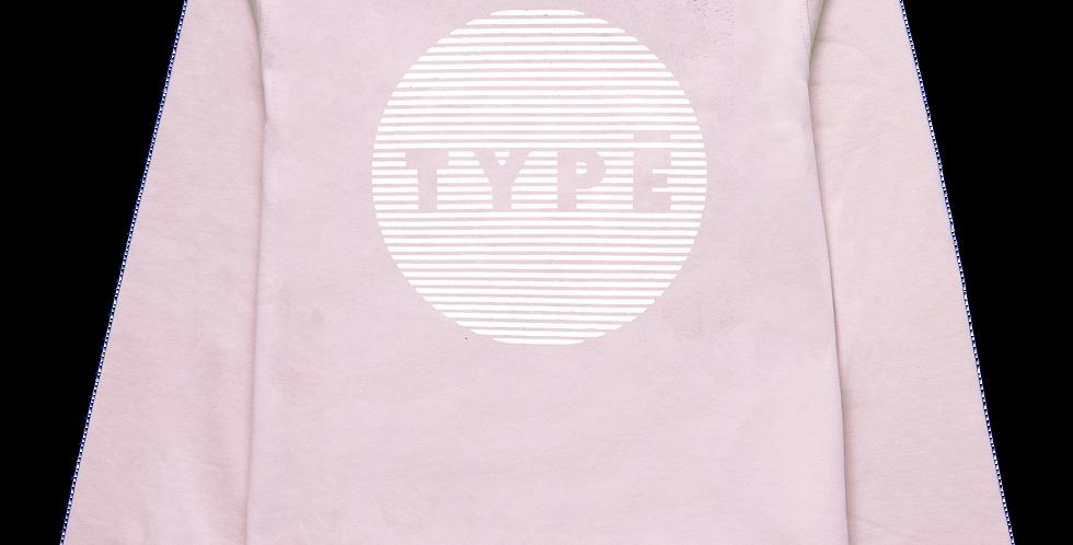 Sweatshirt 'TYPE Circle' Druck