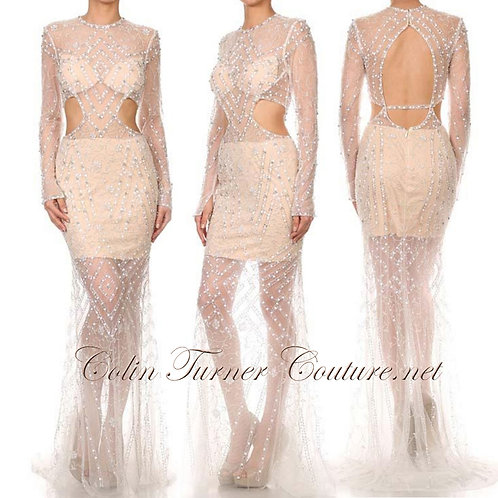 CTC - Couture Crystal Diamond Gown