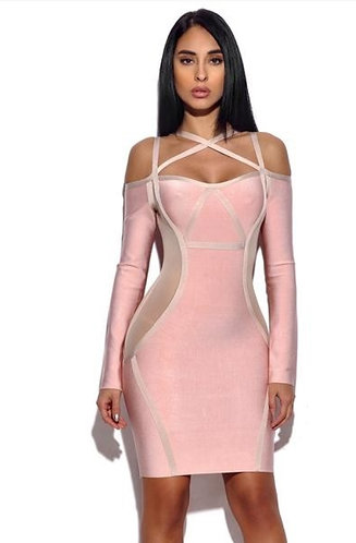 CTC - COUTURE ZELLMA BANDAGE DRESS