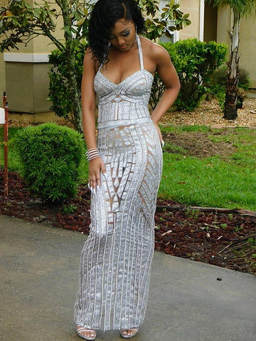"""""""ARIEL"""" COUTURE CRYSTAL GOWN"""
