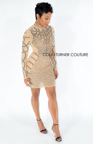 CTC - COUTURE BLACK METAL STUD MINI