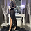 """Thumbnail: """"FLAWLESS"""" COUTURE  SEQUIN SLIT OF MESH ILLUSION GOWN"""