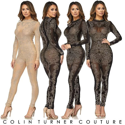 CTC - COUTURE TOTALLY STONED CATSUIT