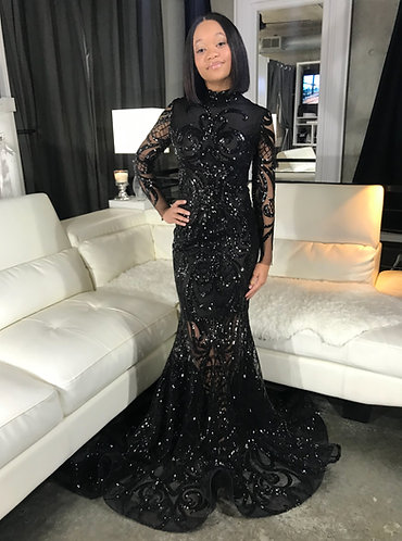 """""""GIAVANNA"""" COUTURE SEQUIN GOWN"""