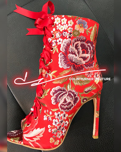 CTC - RED ROSE BROCADE COLLECTION