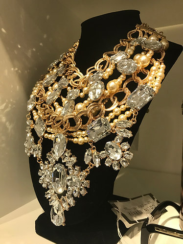 CTC - COUTURE LARGE STATEMENT NECK PIECE