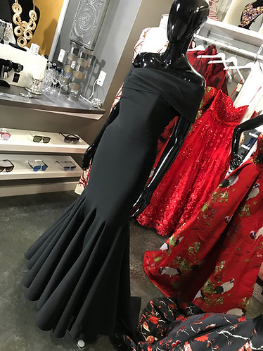 CTC - COUTURE DRAPED TRUMPET GOWN