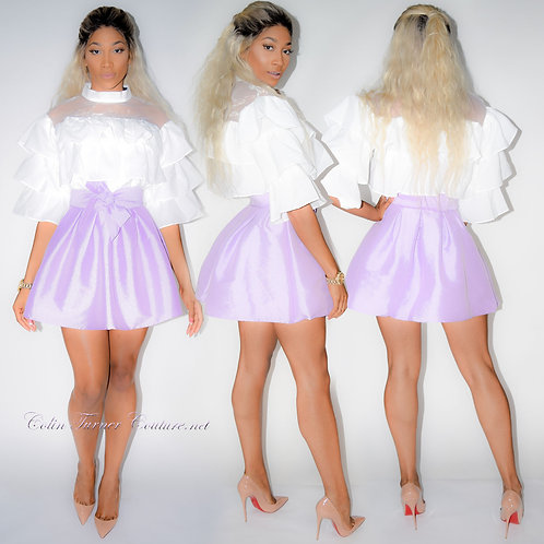 CTC - Couture Peplum Mini Skirt