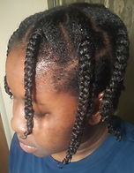 Juci Roots in my protective styles