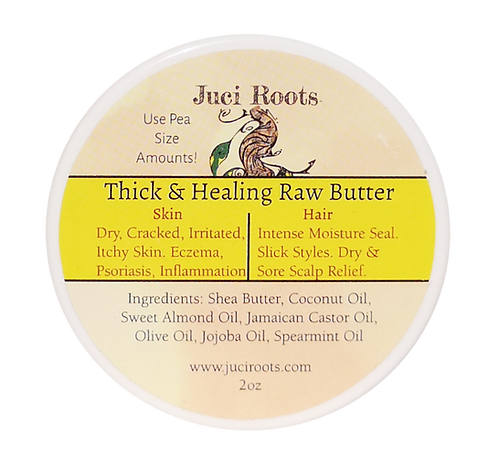 2oz Thick & Healing Raw Butter