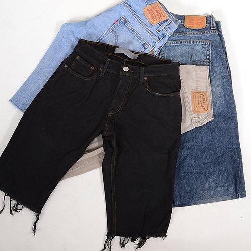 Vintage Men's Levi's Grade B Cut Off Denim Shorts